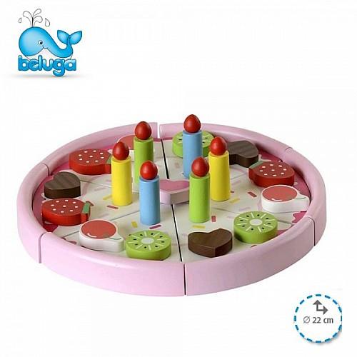 Beluga дървена играчка Торта