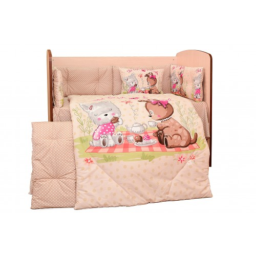 "Спален комплект 5 части ""Пикник"" на Dizain Baby"