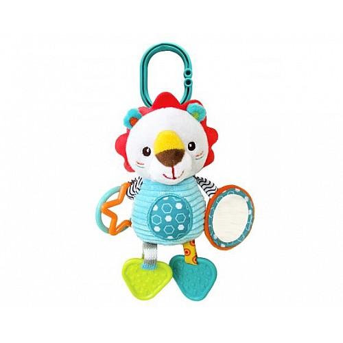 Занимателна плюшена играчка Leo the Lion от Kikka boo
