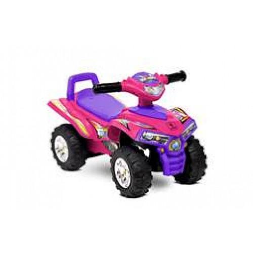 Кола за яздене ATV от Lorelli цвят розов
