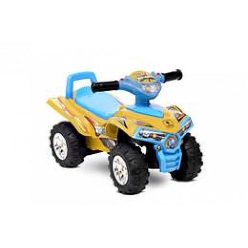 Кола за яздене ATV от Lorelli цвят жълт