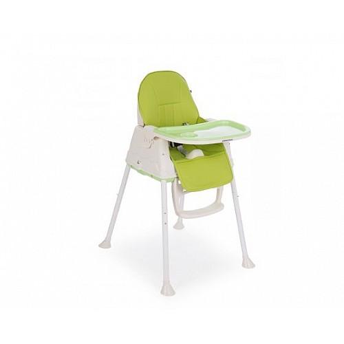 Детски стол за хранене Creamy от Kikka boo зелен