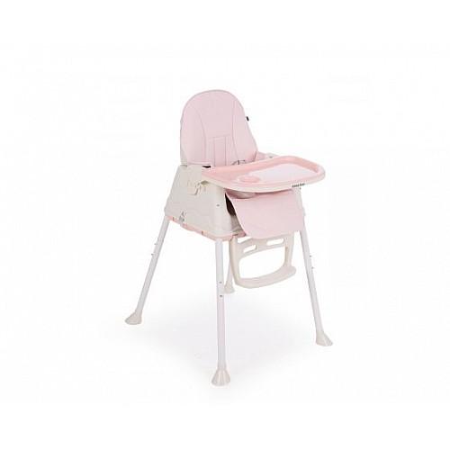 Детски стол за хранене Creamy от Kikka boo розов