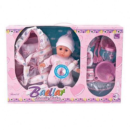 Кукла Baby baellar 30 см порт бебе