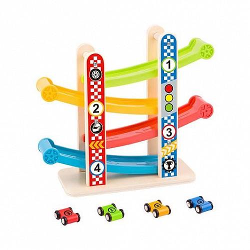 Дървена състезателна писта от Tooky Toy