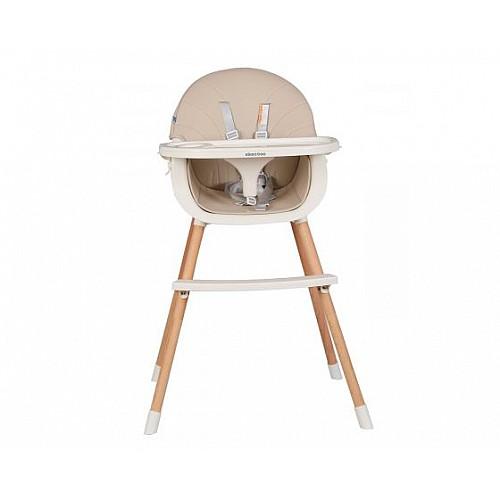 Стол за хранене Nutri Wood от Kikka boo цвят бежов