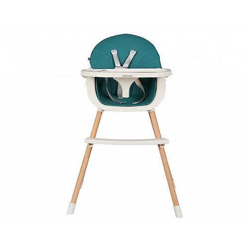 Стол за хранене Nutri Wood от Kikka boo цвят зелен