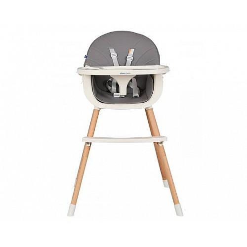 Стол за хранене Nutri Wood от Kikka boo цвят сив