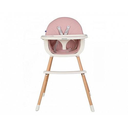 Стол за хранене Nutri Wood от Kikka boo цвят розов