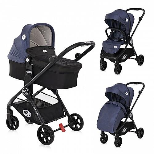 Бебешка количка Patrizia от Lorelli цвят син