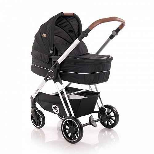Комбинирана количка Angel 3 в 1 на Lorelli цвят: черен