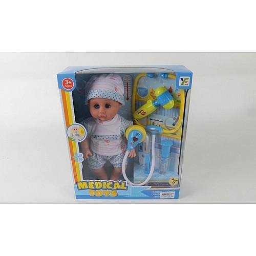 UniToy Бебе с докторски комплект